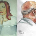 Ayer/Hoy: Retratos en acuarela